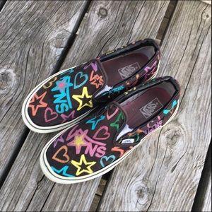 2c58975a3d Vans Shoes - 🆕List! Graffiti Vans! GUC!